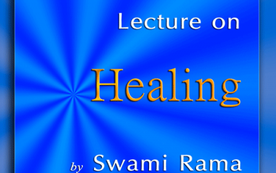 Now available on iTunes: Lecture on Healing by Swami Rama